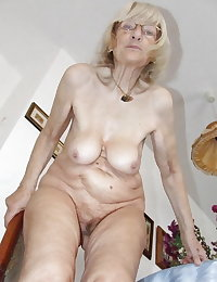 More very old naked women