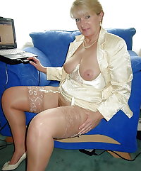 Hot Grannies Colletion #21 STOCKINGS
