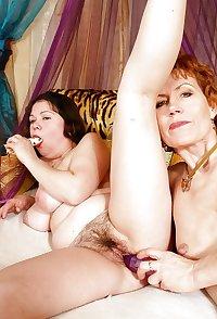 Lesbian older women.