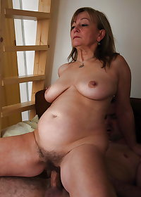 This granny gives me such hard cock