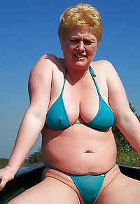 mature swimsuit.