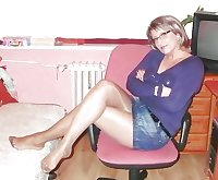 Milf and matures in stockings!