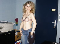 Blonde Milf  Sandrine