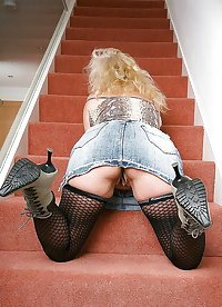 Grannies matures and milfs upskirt 36