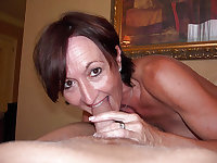 Grannies mature milf blowjob handjob sucking 1