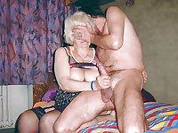 Silver Hair Grannies and Senior Sluts