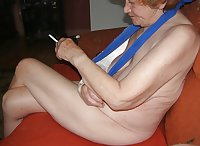MY STUPID GRANNY PLAY WITH MY COCK