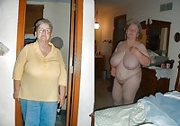grannies sexy with or without clothes