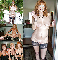 Alluring Granny! - Indoors, Outdoors and with Friends (GILF)