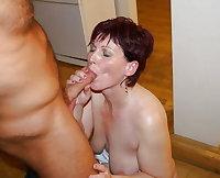 Older Ladies Sucking Cock