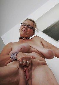 Sagging breasts granny women excite me 11