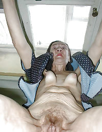 Sagging breasts granny women excite me 11