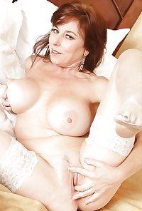 Big titted mom Karen from OlderWomanFun