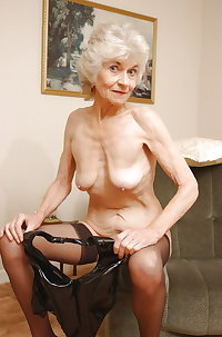 sexy granny , who is she and where can i see more ?