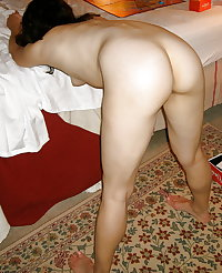A Nude Older Woman