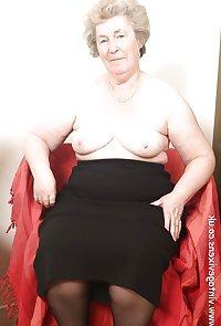 Granny in black