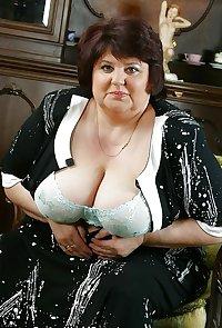 55 year old BBW Dana from OlderWomanFun