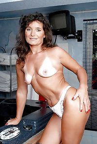 50 year old cougar Edith from OlderWomanFun