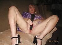 Granny whore Deb thru the years