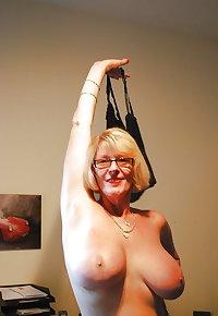 Slutty Dirty Blonde Sexy Granny