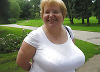 Russian Busty Granny! Amateur!