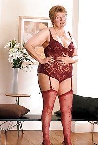 Grandma her saggy tits 4.