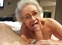 Very Old Granny Blowjob