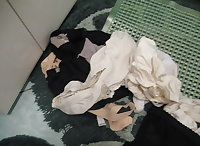 Dirty underwear60 year old woman